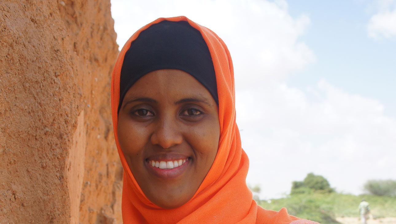 Rahma Aideed muistuttaa, että veden puute näkyy suoraan ihmisten päivittäisessä arjessa.