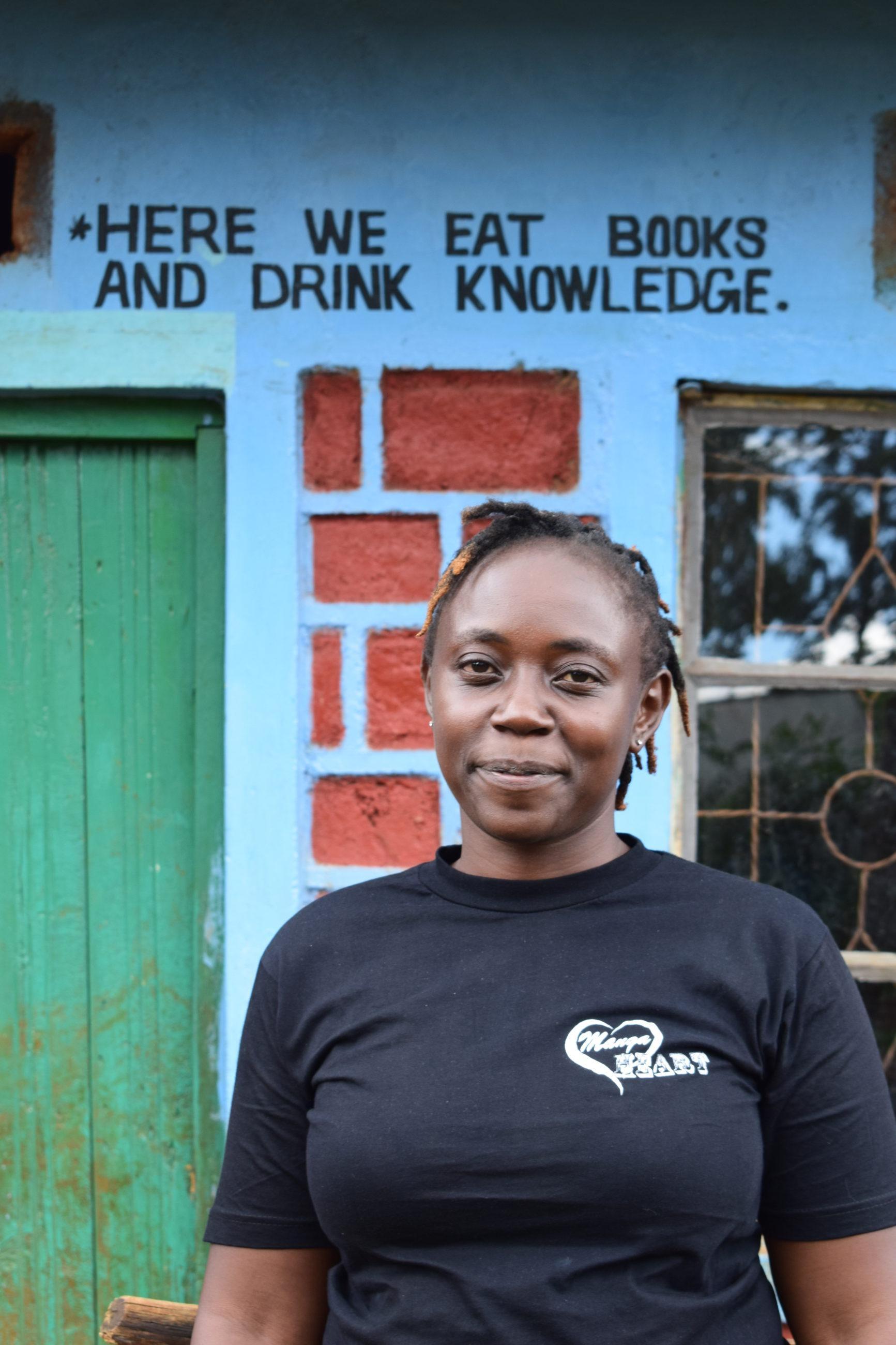 Grace Kerubo turvaleirillä silpomisperinnettä vastaan