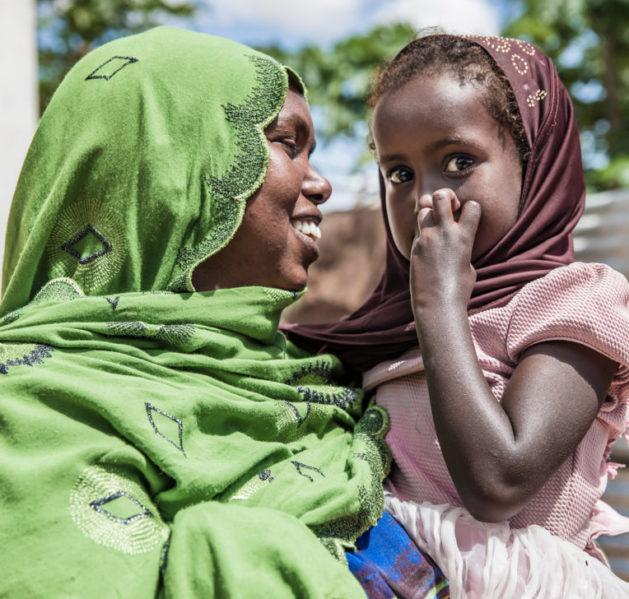 Äiti ja tytär Somalimaassa