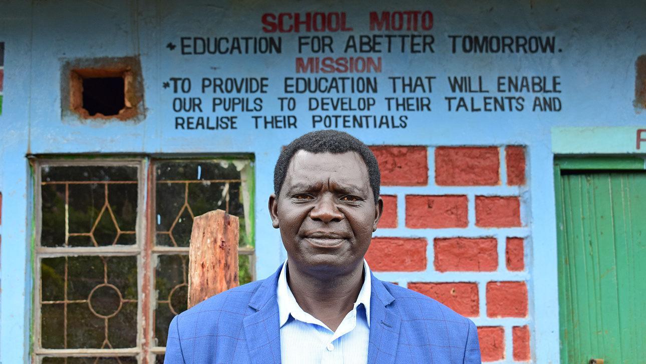 Bernard Oseko on kenialaisen Manga Heart järjestön toiminnanjohtaja. Kuva: Ulla Sarén