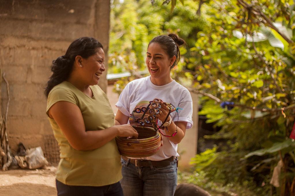 Solidaarisuuden Nicaragualainen kouluttaja Ingrid Soza kannustaa naisia uskomaan itseensä.