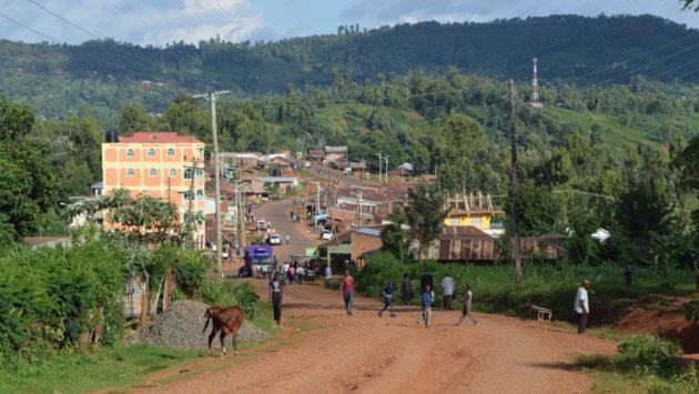 Kisiin maantie Keniassa