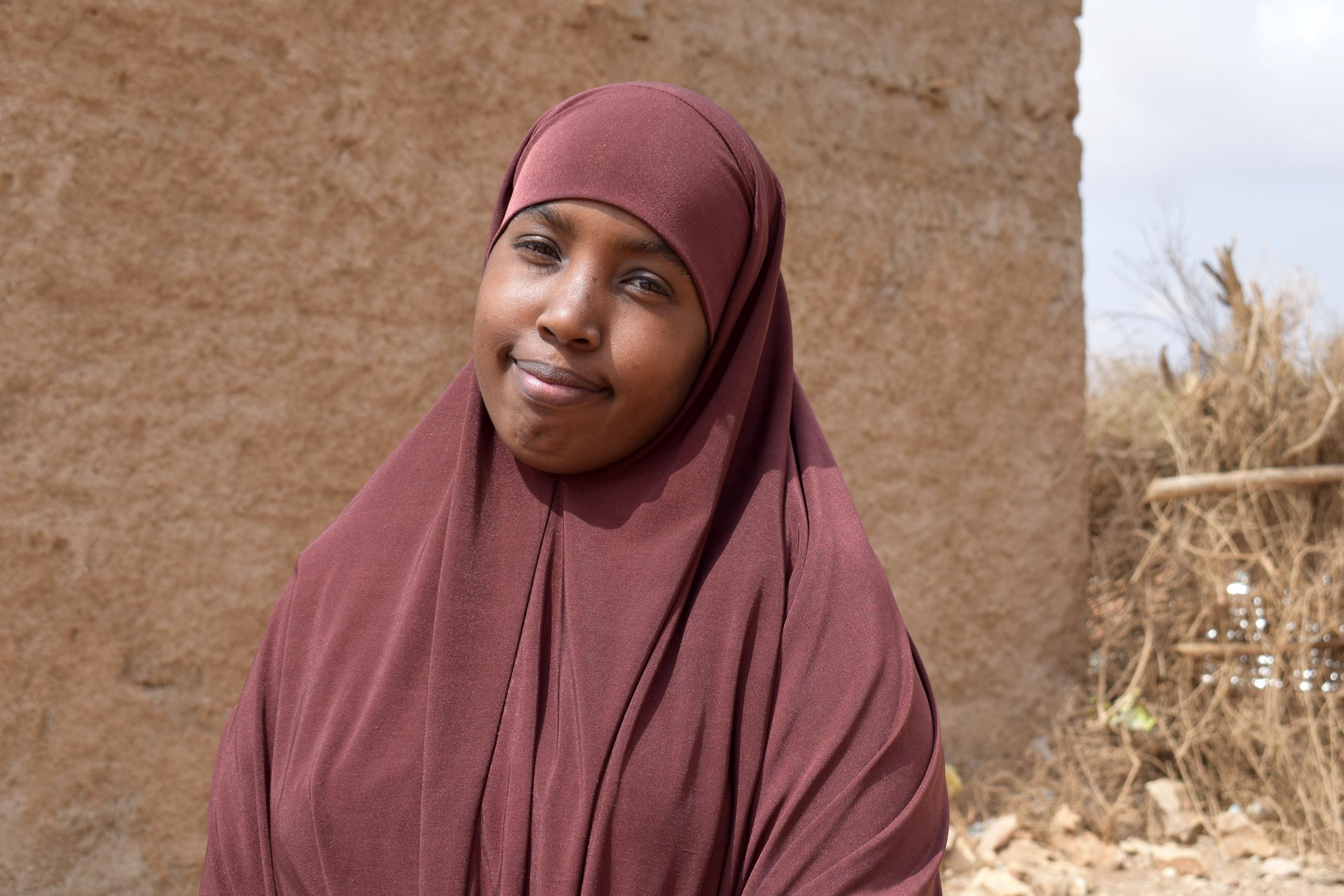 Tasa-arvovastaava Muna Mohamed Hussein