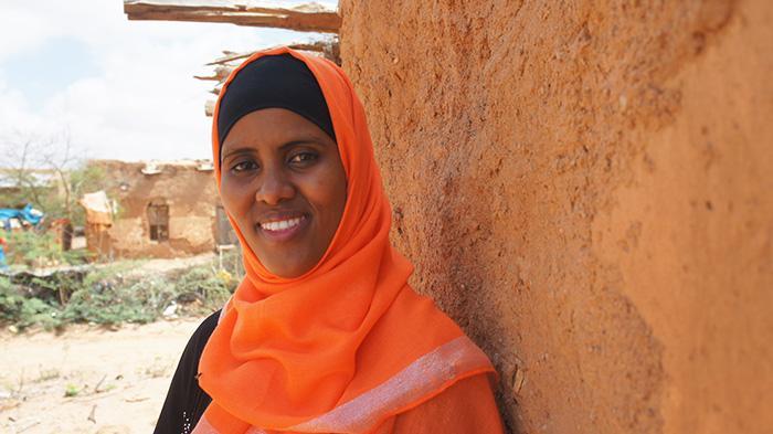 Somalimaalainen Rahma Aideed muistuttaa, että veden puute näkyy suoraan ihmisten päivittäisessä arjessa.