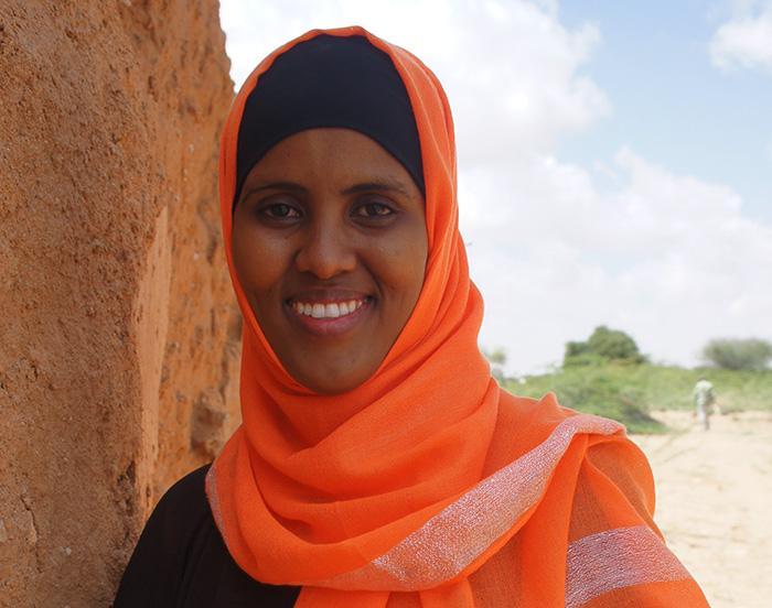 Somalimaalainen Rahma Aideed näyttää työssään naisille, että jos he vain haluavat, he pystyvät tekemään aivan samoja asioita kuin miehet.