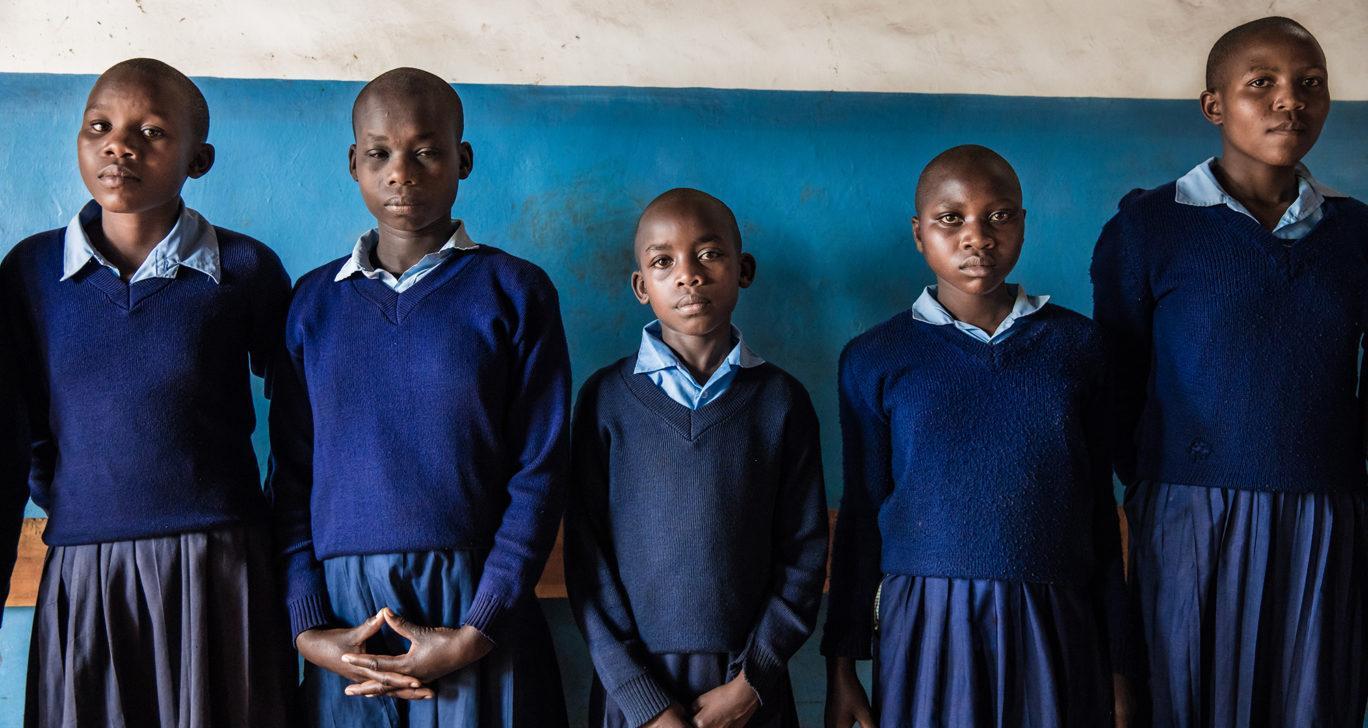 Vakavia lapsia Keniassa