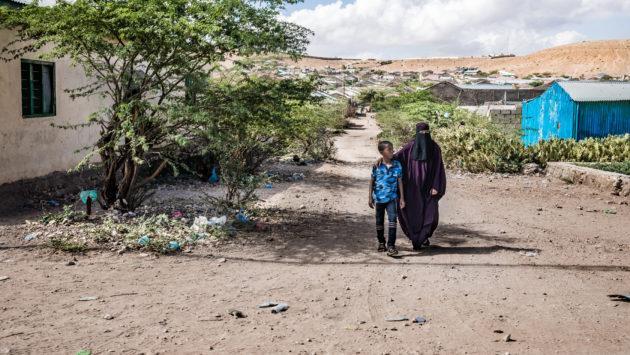 Meeri Koutaniemi Somalimaassa