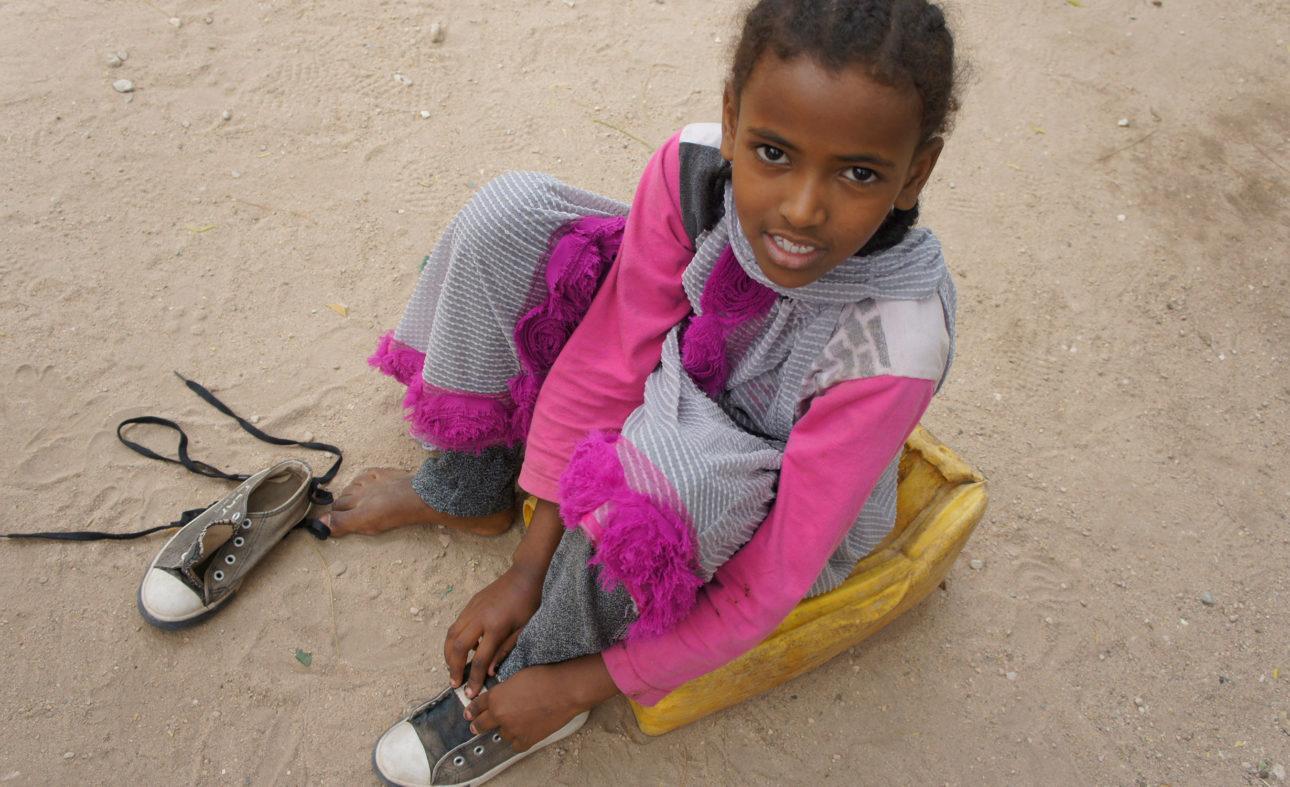 Amaalin tytär Ayanle säästyy silpomisperinteeltä. Kuva: Siru Aura