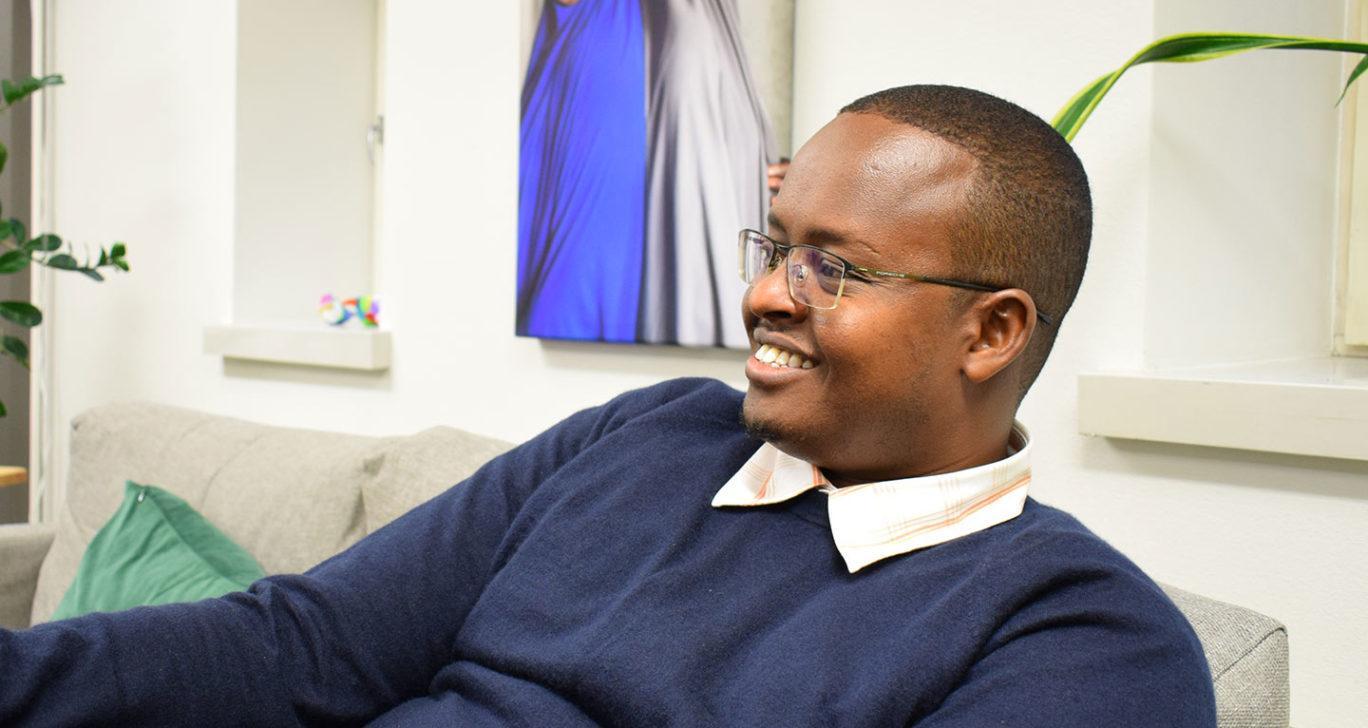 Ahmed Mire on Solidaarisuuden ohjelmakoordinaattori Somalimaassa.