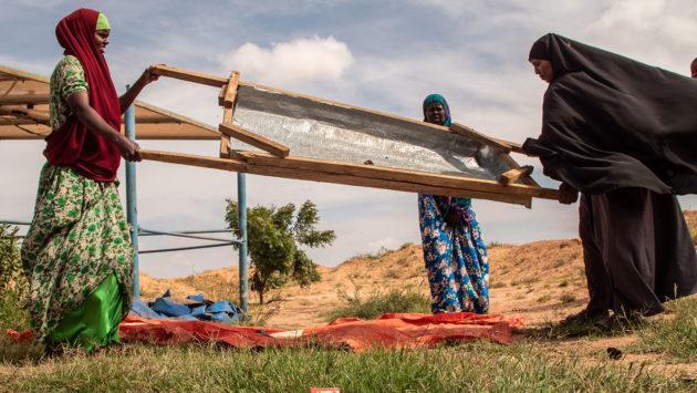 Naisia Somalimaassa.