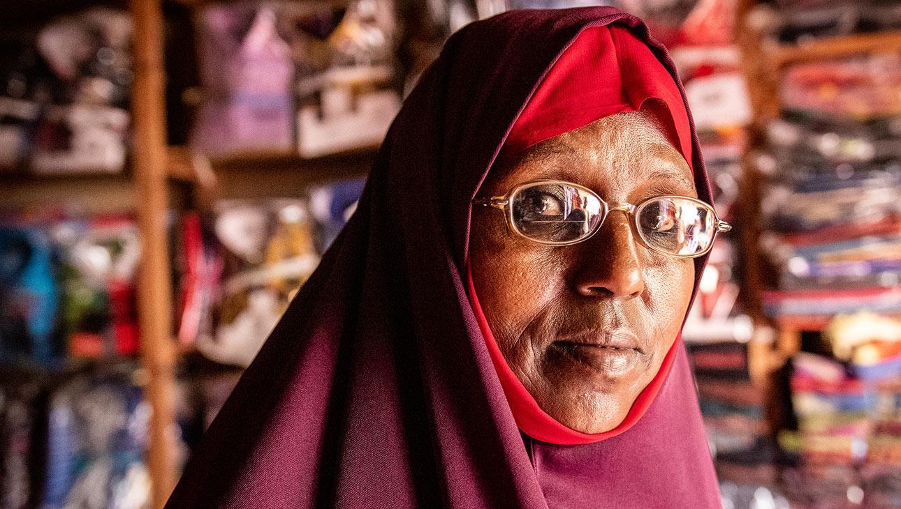 Amina kokee kehittyneensä paljon ihmisenä naisryhmän johtamisen myötä.