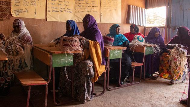 Naisryhmä Somalimaassa
