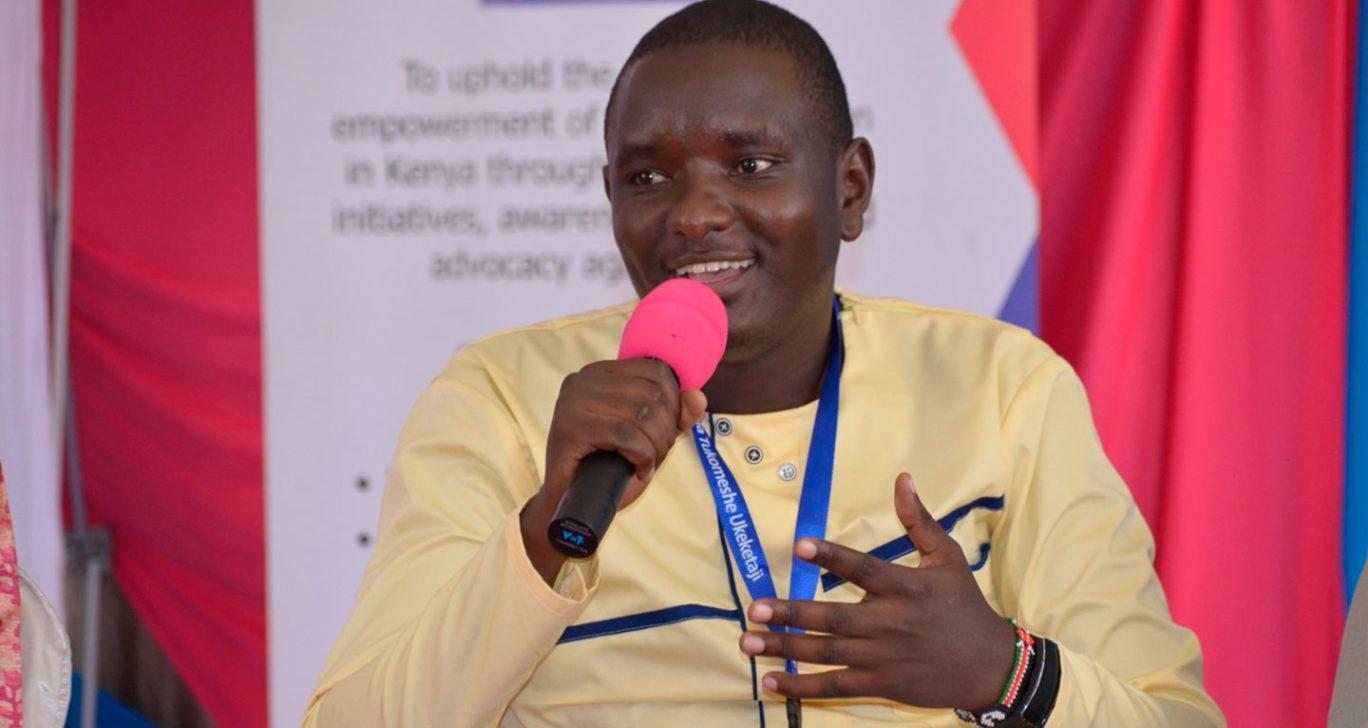 Tony Mwebia on perustanut men End FGM -säätiön