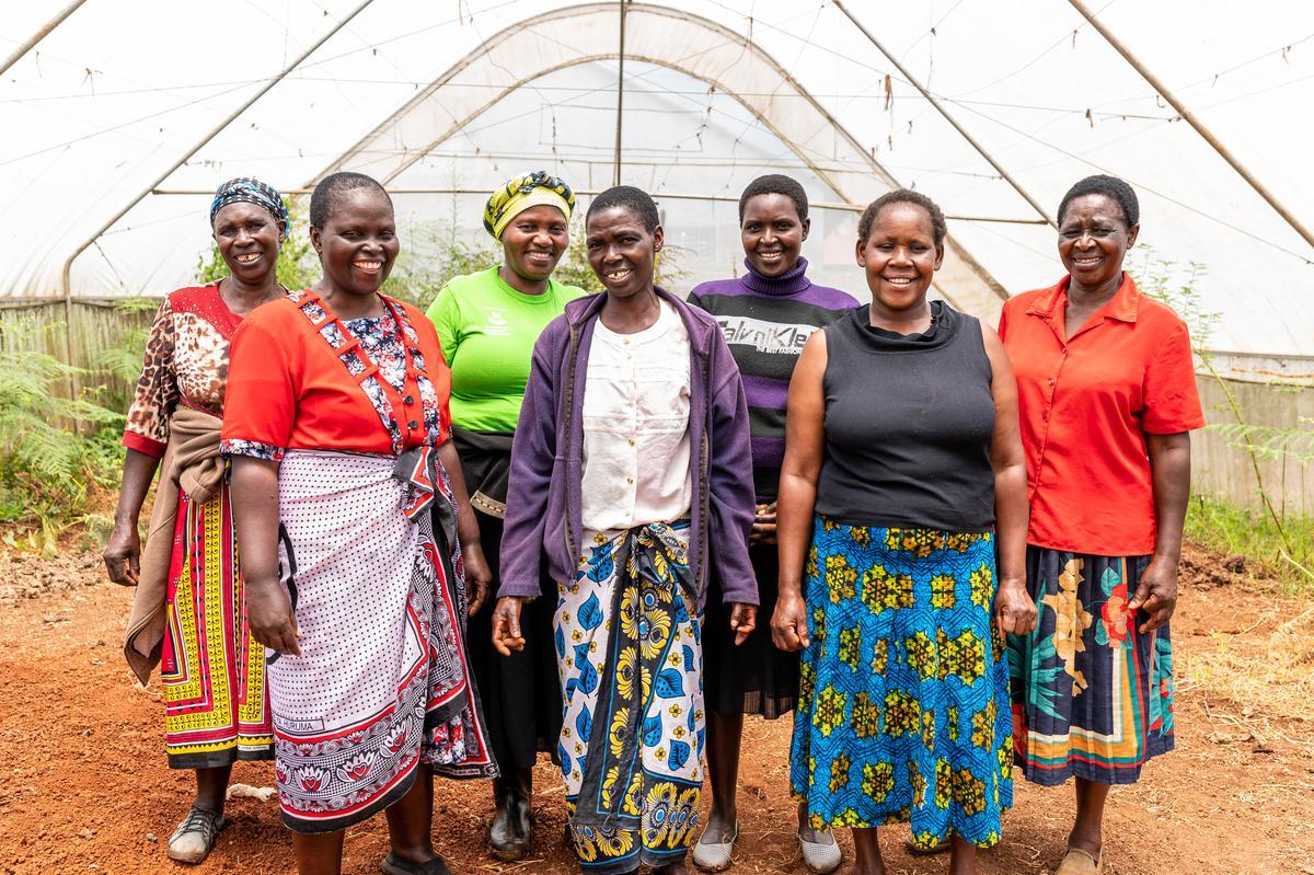 Kenian naisryhmä. Kuva: Open Hand Studios