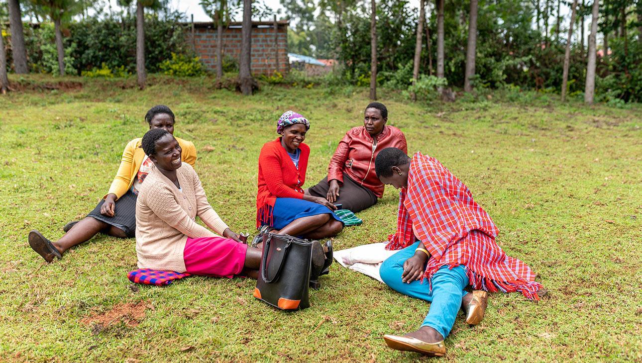 Naisryhmä Keniassa